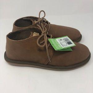 Size 8 Men's Sanuk Koda Chukka Boots Brown Vegan